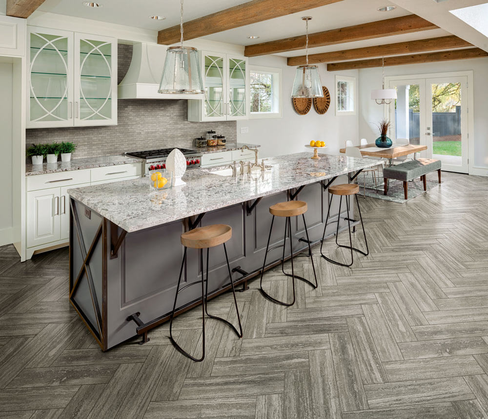 How much would it cost to tile a kitchen floor in Delaware