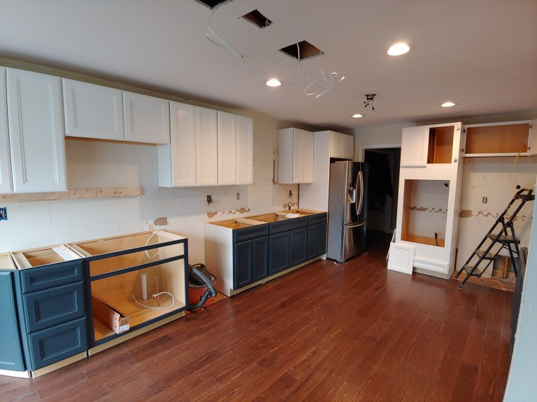 a new kitchen remodel in delaware