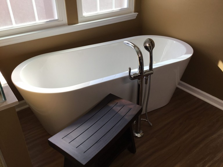 soaker tub replacement
